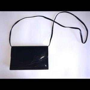 Handbags - Black Patent Leather Bag